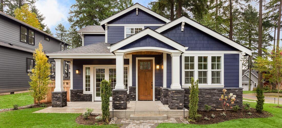 Типы современных частных домов